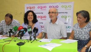 Presentación de los candidatos de EQUO en la provincia de Las Palmas