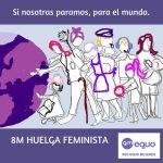 8M: Respaldamos la huelga feminista laboral y de cuidados de 24 horas