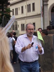 """Alejandro Sánchez: """"Votar verde es votar a EQUO en Canarias"""""""