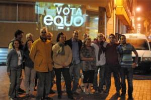 EQUO inicia su campaña con una pegada luminosa en Las Palmas de Gran Canaria