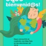EQUO concurrirá a las elecciones del 10N en coalición con Más País