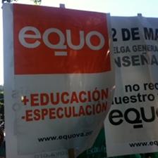 EQUO-Canarias pide a la ciudadanía que se sume a las protestas contra las políticas del Gobierno