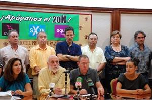 Se presentó la coalición de la izquierda verde canaria formada por Sí se puede, Socialistas por Tenerife y EQUO