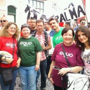 EQUO-Canarias felicita a la sociedad canaria por el masivo seguimiento a la Huelga general