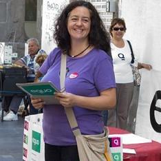 Pilar Álvarez encabezará la lista de EQUO en Las Palmas