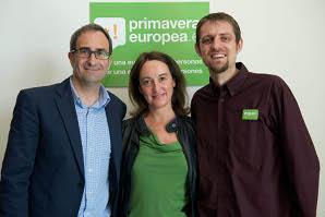Compromís, EQUO y CHA presentan en Madrid Primavera Europea
