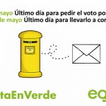 ¡Hasta el 16 de mayo puedes solicitar el voto por correo!